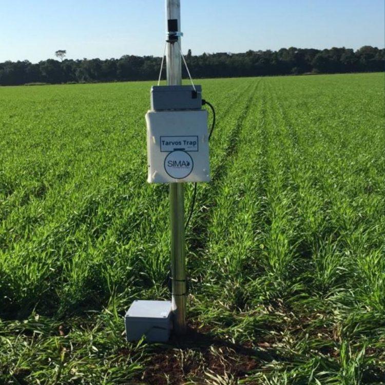 Equipamento desenvolvido por startup apoiada pelo PIPE-FAPESP permite o controle biológico de pragas que afetam a produção de soja e algodão (foto: Tarvos/divulgação)